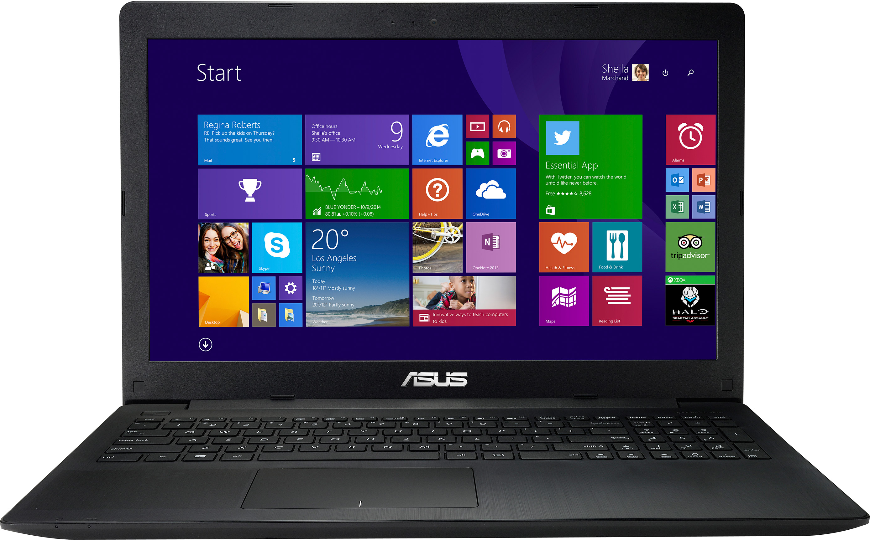 Ноутбук ASUS F553SA-XX305T Intel Сeleron N3050/2048Mb/500Gb/15.6 HD/WiFi/BT/Windows 10 (black) (90NB0AC1-M06000)