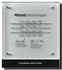 Microsoft - Licensing Solutions (20.02.2007 - 29.02.2008)